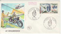 1970 France Police Stamp FDC (59347)