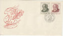 Czechoslovakia 1952 M Ales Stamps FDC (59396)