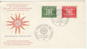 1963 Germany Europa Stamps FDC (59422)