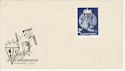 1965 Hungary FIR Congress Stamp Unused on cover (59445)