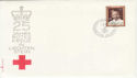 1971 Liechtenstein Red Cross Stamp FDC (59454)