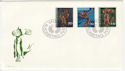 1972 Liechtenstein Wooden Sculptures Stamps FDC (59455)