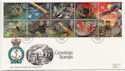 1991-02-05 Greetings Stamps Rainow FDC (59484)