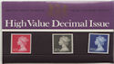 1970-06-17 High Value Definitive P Pack No 18 (59502)