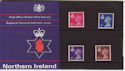 1971-07-07 N Ireland Definitive P Pack No 29 (59504)