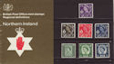 1970-12-09 N Ireland Definitive P Pack No 25 (59505)