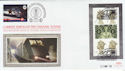 2000-05-23 Her Majesty's Stamps M/S + Euro Tunnel FDC (59531)