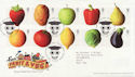 2003-03-25 Fruit and Veg Stamps T/House FDC (59545)
