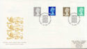 1999-04-20 Definitive Stamps Bureau FDC (59559)