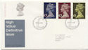 1977-02-02 HV Definitive Stamps Bureau FDC (59610)