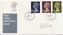 1977-02-02 HV Definitive Stamps Bureau FDC (59611)
