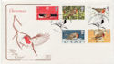 1995-10-30 Christmas Robins Stamps Oxfordshire FDC (59626)