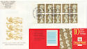 1997-04-21 HD41 Booklet Stamps Bureau FDC (59646)