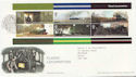 2004-01-13 Classic Locomotives M/S York FDC (59649)
