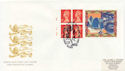 1997-02-12 Hong Kong Label Pane Cylinder Margin FDC (59698)