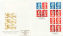 2000-04-27  FH44 + FW12 Bklt Stamps Windsor FDC (59705)