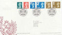 2006-08-01 Definitive Stamps T/House FDC (59707)