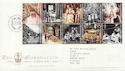 2003-06-02 Coronation Stamps T/House FDC (59712)