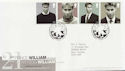 2003-06-17 Prince William Stamps Cardiff FDC (59713)
