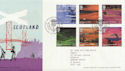 2003-07-15 Scotland A British Journey T/House FDC (59715)