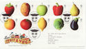 2003-03-25 Fruit and Veg Stamps T/House FDC (59732)