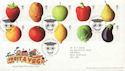2003-03-25 Fruit and Veg Stamps T/House FDC (59775)