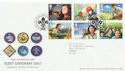 2007-07-26 Scout Centenary Stamps T/House FDC (59840)
