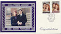 1986-07-22 Royal Wedding Stamps Dummer FDC (59863)