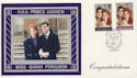 1986-07-22 Royal Wedding Stamps Dummer FDC (59884)