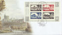 2005-03-22 Castle Definitive M/S Windsor FDC (59971)