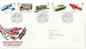 2003-09-18 Transports of Delight Stamps Toye FDC (59988)