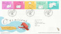 2004-02-03 Occasions Stamps Merry Hill FDC (59994)