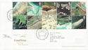 2002-03-19 Coastlines Stamps Coast Poolewe FDC (60006)