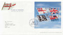 2001-10-22 Flags and Ensigns M/S Rosyth FDC (60024)