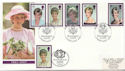 1998-02-03 Diana Stamps Kensington Doubled FDC (60044)
