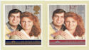 1986-07-22 Royal Wedding PHQ Cards Mint Set (60048)