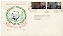 1965-07-08 Churchill Stamps Battle Sussex FDC (60060)