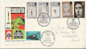 1969-07-01 Investiture Stamps Croeso'69 Official FDC (60074)