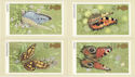 1981-05-13 Butterflies PHQ 51 Mint Set (60201)