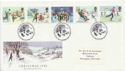 1990-11-13 Christmas Stamps Bethlehem FDC (60244)