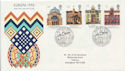 1990-03-06 Europa Buildings Stamps Edinburgh FDC (60250)