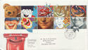 1990-02-06 Greetings Stamps Giggleswick FDC (60251)