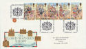 1989-10-17 Lord Mayor Show London EC FDC (60252)