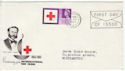 1963-08-15 Red Cross 3d Northampton Slogan FDC (60309)