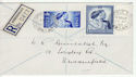 1948-04-26 KGVI Royal Silver Wedding Stamps cds FDC (60410)
