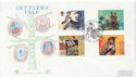 1999-04-06 Settlers Tale Plymouth FDC (60445)