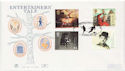 1999-06-01 Entertainers Tales Wembley FDC (60458)