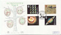 1999-08-03 Scientists Tale Royal Society W1 FDC (60480)