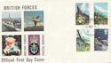 1979-03-21 British Flowers Forces cds FDC (60493)