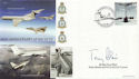 2002-05-02 Airliners VC10 Anniv T Blair Signed FDC (60500)